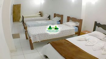 Guesthouse in Chapada dos Guimarães - Room for 8 people